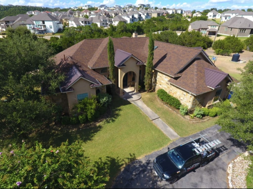 Leander, Texas - Roof replacement