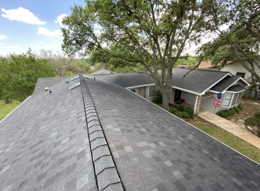 Wimberley, Texas - Roof replacement.