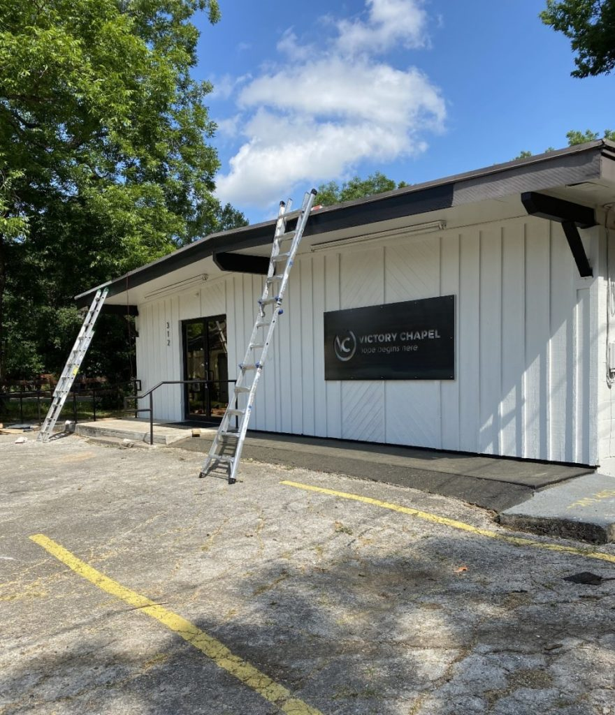 Victory Chapel Commercial Roof Replacement